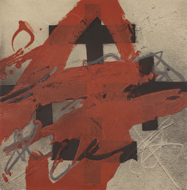 Antoni Tàpies - Cobert de roig