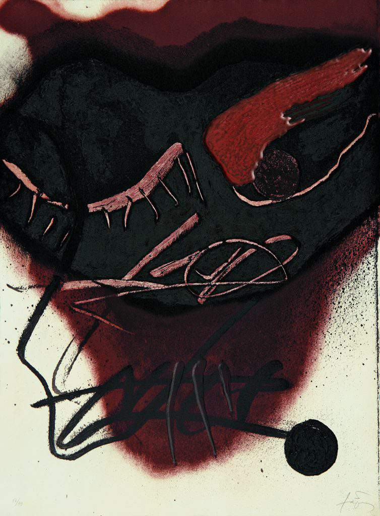 Antoni Tàpies - Figura