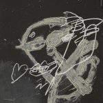 Antoni Tàpies - Blanc sur noir