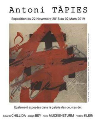 Exposition Antoni Tàpies
