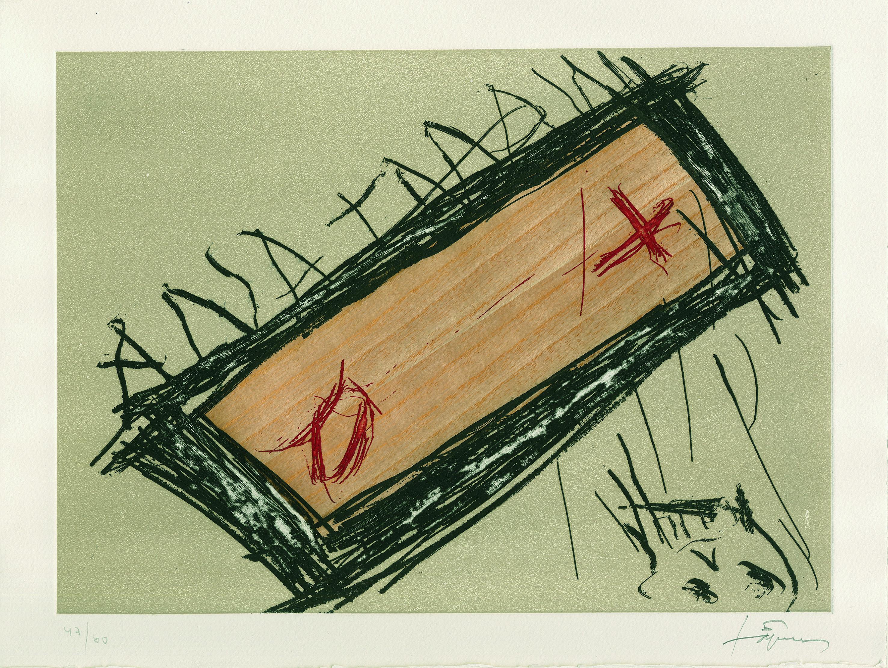 """Antoni Tàpies """"Empremtes - Spuren"""""""