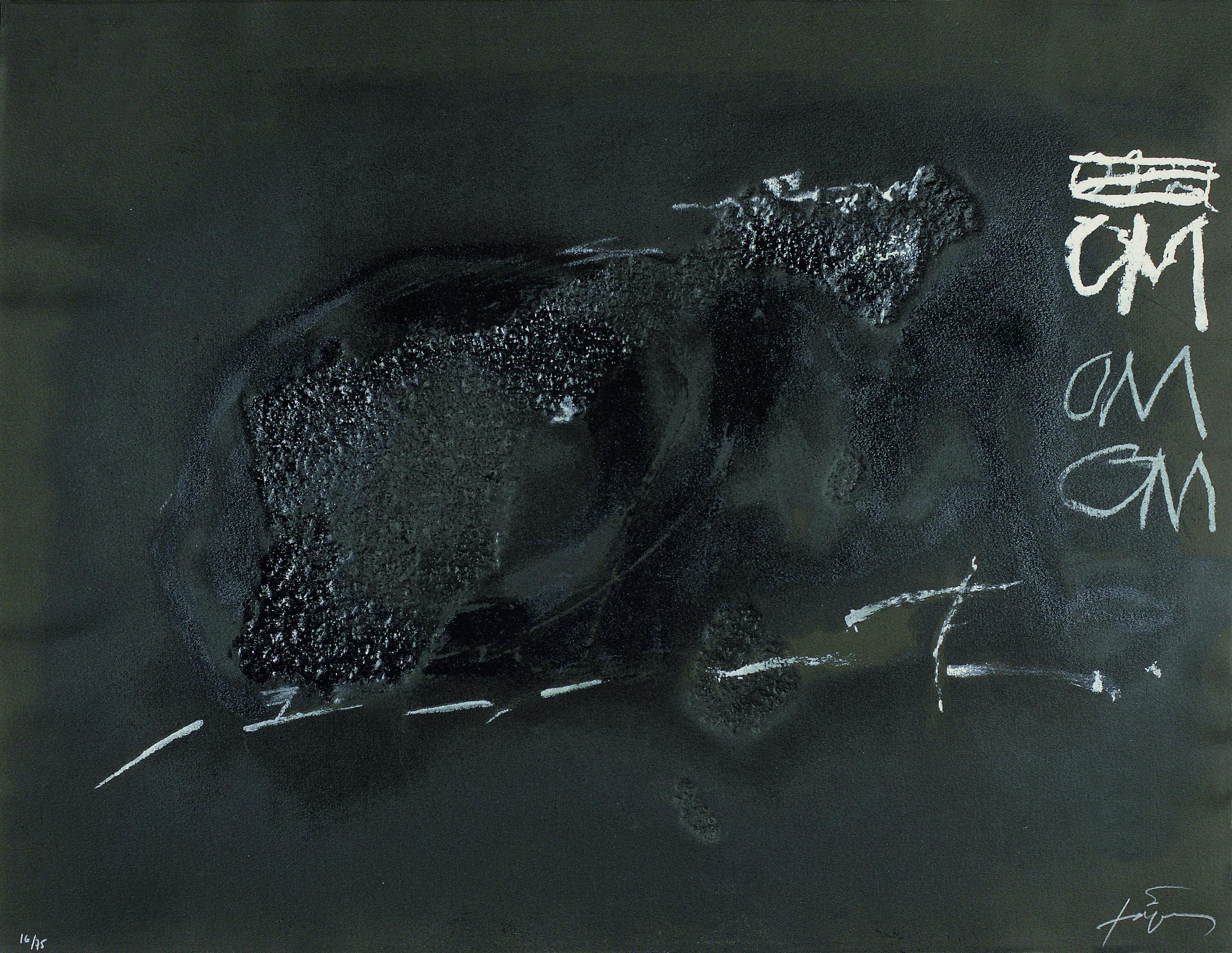 Antoni Tapies - variations sur un thème musical